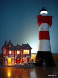 Модель маяка Roter Sand